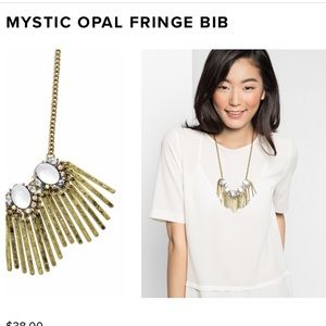 Opal Fringe Necklace